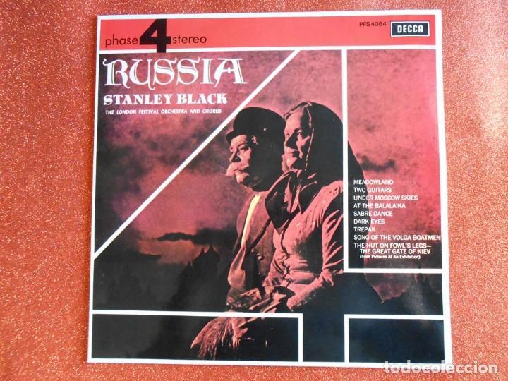 RUSIA STANLEY BLACK CORO Y ORQUESTA DEL FESTIVAL DE LONDRES (Música - Discos de Vinilo - EPs - Clásica, Ópera, Zarzuela y Marchas)