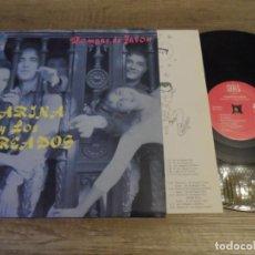 Discos de vinilo: MARINA Y LOS MAREADOS - POMPAS DE JABON. Lote 143897562