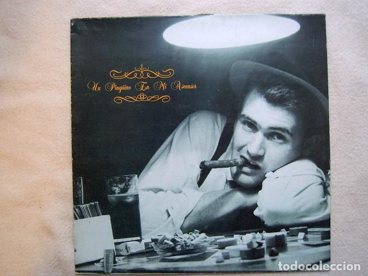 UN PINGÜINO EN MI ASCENSOR_EL BALNEARIO_VINILO LP 12'' EDICIÓN ESPAÑOLA_DRO_1988 (Música - Discos - LP Vinilo - Grupos Españoles de los 70 y 80)