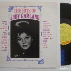 Discos de vinilo: JUDY GARLAND - THE HITS OF JUDY GARLAND - LP USA MONO - CAPITOL. Lote 143901902