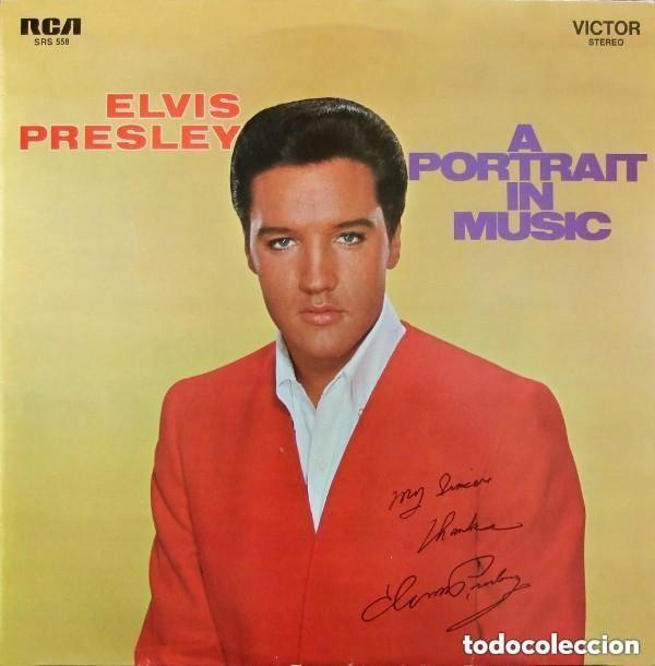 ELVIS PRESLEY - A PORTRAIT IN MUSIC - LP RCA VICTOR HOLLAND 1973 (Música - Discos - LP Vinilo - Pop - Rock - Extranjero de los 70)