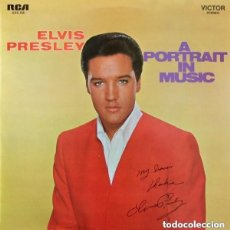 Discos de vinilo: ELVIS PRESLEY - A PORTRAIT IN MUSIC - LP RCA VICTOR HOLLAND 1973. Lote 143906318