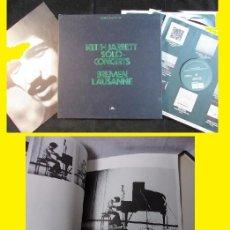 Discos de vinilo: KEITH JARRETT - BREMEN LAUSANNE 1973 !! COMPLETA CAJA 3 LPS + LIBRETO !! ORG EDT USA + 3 ENCARTES,EX. Lote 143907918