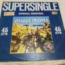 Discos de vinilo: VILLAGE PEOPLE_Y.M.C.A. / THE WOMEN_VINILO MAXI SINGLE 12''_EDICIÓN ESPAÑOLA_1979. Lote 143908270