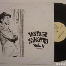 Discos de vinilo: FRANK SINATRA - VINTAGE SINATRA VOL2 -LP USA - JICKO. Lote 143914338