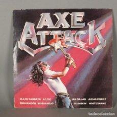 Discos de vinilo: VINYL LP. AXE ATTACK. HEAVY METAL. 1980 (BRD). Lote 143915342