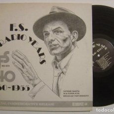 Discos de vinilo: FRANK SINATRA - THE RADIO YEARS (1939-1979) - LP USA - RETROSPECT. Lote 143915562