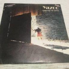 Discos de vinilo: YAZOO_DON'T GO = NO VAYAS (RE-MIXES)_VINILO MAXI SINGLE 12'' EDICIÓN ESPAÑOLA_1982. Lote 143917746