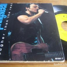Discos de vinilo: BRUCE SPRINGSTEEN - TOUGHER THAN THE REST ********* RARO SINGLE ESPAÑOL PROMO 1988. Lote 143917998