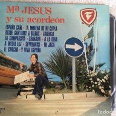 Discos de vinilo: LP MARIA JESUS Y SU ACORDEON. Lote 143918462