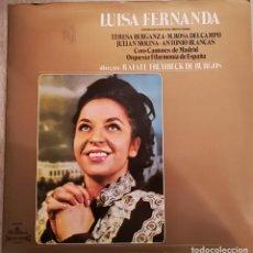 Discos de vinilo: TERESA BERGANZA - LUISA FERNANDA - 1967 ALHAMBRA - CON LIBRETO. Lote 143921606