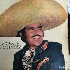 Discos de vinilo: LP VICENTE FERNANDEZ-VICENTE FERNANDEZ. Lote 143925822
