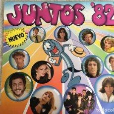 Discos de vinilo: LP JUNTOS 82-VARIOS. Lote 143927258