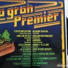 Discos de vinilo: LP LA GRAN PREMIER-VARIOS. Lote 143927378