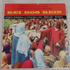 Discos de vinilo: REI DOS REIS - MIKLOS ROZSA. RARA EDICION BRASILEÑA . Lote 143927694