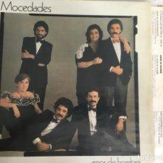 Discos de vinilo: LP MOCEDADES-AMOR DE HOMBRE. Lote 143930426