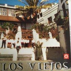 Discos de vinilo: LP LOS VIEJOS-LOS GRANDES EXITOS. Lote 143931778