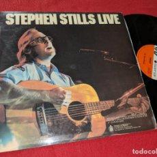 Discos de vinilo: STEPHEN STILLS LIVE LP 1976 ATLANTIC ESPAÑA SPAIN. Lote 143942990