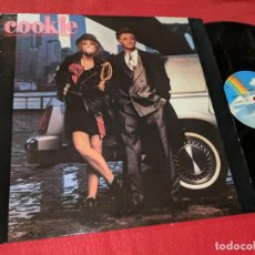 Discos de vinilo: COOKIE BSO OST LP 1989 MCA ALEMANIA GERMANY RECOPILATORIO. Lote 143943146