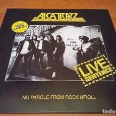 Discos de vinilo: ALCATRAZZ LP LIVE SENTENCE, NO PAROLE..180G -YNGWIE MALMSTEEN- BONNET-RAINBOW-DEEP PURPLE. Lote 143943258