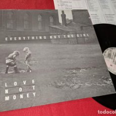 Discos de vinilo: EVERYTHING BUT THE GIRL LOVE NOT MONEY LP ALEMANIA GERMANY. Lote 143943306