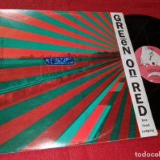 Discos de vinilo: GREEN ON RED GAS FOOD LODGING LP 1986 ENIGMA ESPAÑA SPAIN. Lote 143943346