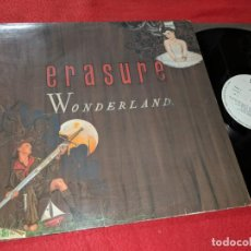 Discos de vinilo: ERASURE WONDERLAND LP 1986 MUTE RECORDS ESPAÑA SPAIN. Lote 143943386