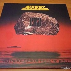 Discos de vinilo: ALCATRAZZ 2 LP NO PAROLE.180G RED VINY LTD. ONLY 500 -YNGWIE MALMSTEEN-RAINBOW * RAREZA*. Lote 143943586