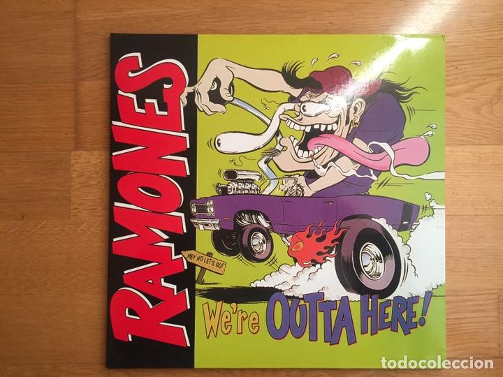RAMONES: WE'RE OUTTA HERE! (Música - Discos - LP Vinilo - Punk - Hard Core)