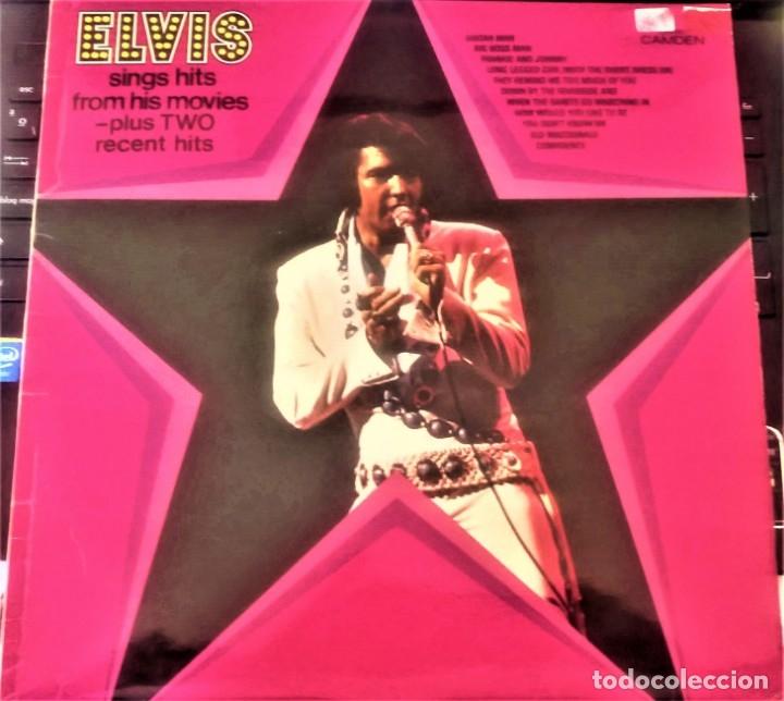 ELVIS PRESLEY : ELVIS SINGS HITS FROM HIS MOVIES PLUS TWO RECENT HITS (VG+/EX), RCA CAMDEN CDS 1110 (Música - Discos - LP Vinilo - Pop - Rock Extranjero de los 50 y 60)