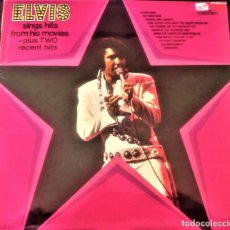 Discos de vinilo: ELVIS PRESLEY : ELVIS SINGS HITS FROM HIS MOVIES PLUS TWO RECENT HITS (VG+/EX), RCA CAMDEN CDS 1110. Lote 113781087