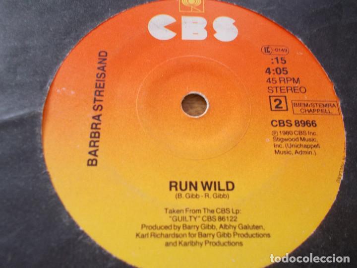Discos de vinilo: BARBRA STREISAND. WOMAN IN LOVE. RUN WILD. - Foto 3 - 143977698