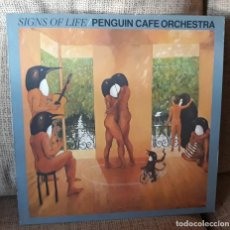 Discos de vinilo: PENGUIN CAFE ORCHESTRA - SIGNS OF LIFE - EG RECORDS 1987 UK. Lote 143979634