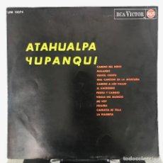 Discos de vinilo: ATAHUALPA YUPANQUI - ATAHUALPA YUPANQUI -1964 DISCO CON UNA PORTADA BIEN RARA Y EN BUENAS CONDICION. Lote 143980570