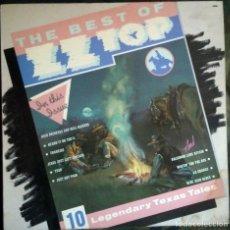 Discos de vinilo: ZZ TOP – THE BEST OF ZZ TOP LP, COMPILATION SPAIN 1982 HARD ROCK . Lote 143988106