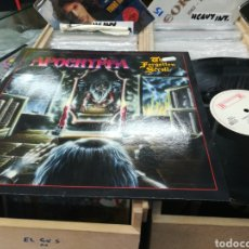 Discos de vinilo: APOCRYPHA LP THE FORGOTTEN SCROLL HOLANDA 1988. Lote 143990372
