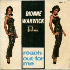 Discos de vinilo: DIONNE WARWICK - REACH OUT FOR ME - EP SPAIN 1965 - FONTANA 466 811 TE. Lote 144000698