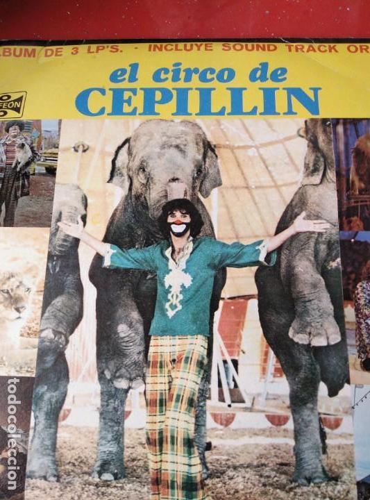 Discos de vinilo: ALBUM DE 3 LP,S. EL CIRCO DE CEPELLIN -MUY RARO- - Foto 2 - 144005834