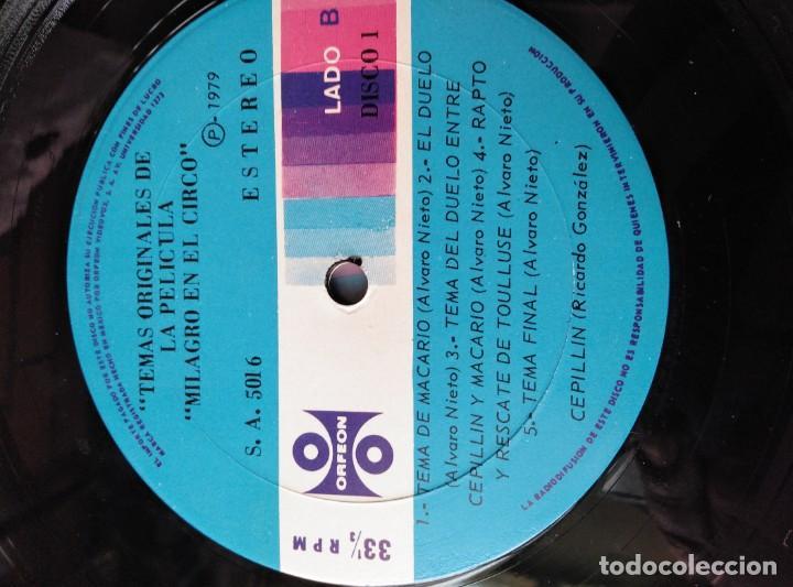 Discos de vinilo: ALBUM DE 3 LP,S. EL CIRCO DE CEPELLIN -MUY RARO- - Foto 15 - 144005834
