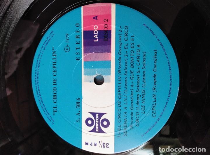Discos de vinilo: ALBUM DE 3 LP,S. EL CIRCO DE CEPELLIN -MUY RARO- - Foto 16 - 144005834