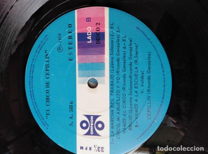 Discos de vinilo: ALBUM DE 3 LP,S. EL CIRCO DE CEPELLIN -MUY RARO- - Foto 17 - 144005834