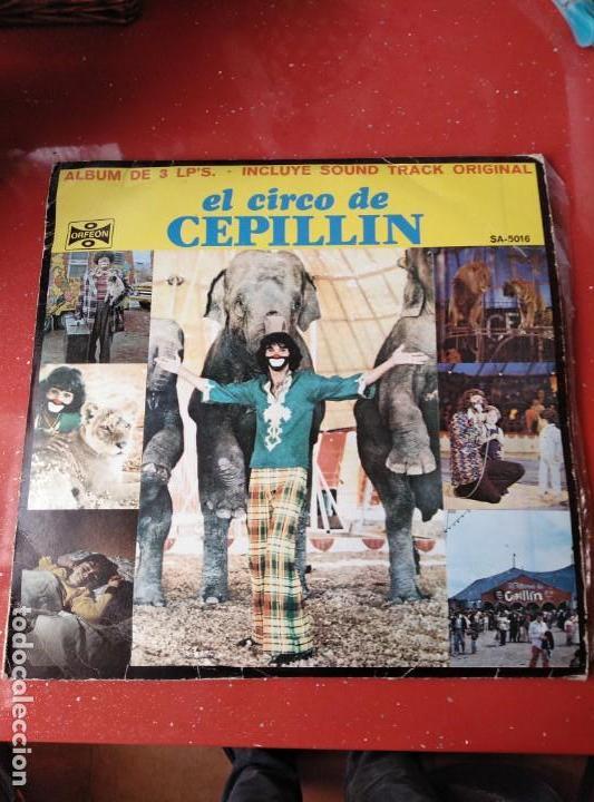 ALBUM DE 3 LP,S. EL CIRCO DE CEPELLIN -MUY RARO- (Música - Discos - Singles Vinilo - Música Infantil)