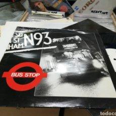 Discos de vinilo: N93 MAXI BUS STOP FRANCIA 1988. Lote 144007617
