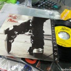 Discos de vinilo: MICHAEL JACKSON SINGLE PROMOCIONAL POR UNA SOLA CARA ESPAÑA 1988. Lote 144010954
