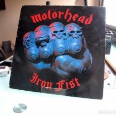 Discos de vinilo: MOTÖRHEAD – IRON FIST (EDICIÓN UK). Lote 144015922