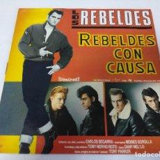 Discos de vinilo: VINILO-LP/LOS REBELDES/REBELDES CON CAUSA.. Lote 144022666