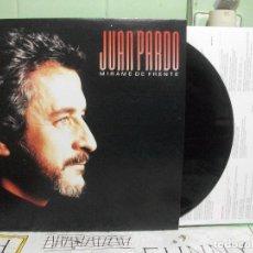 Discos de vinilo: LP-JUAN PARDO-MÍRAME DE FRENTE-HISPAVOX-1987-HOJA CON LETRAS- PEPETO. Lote 144022894