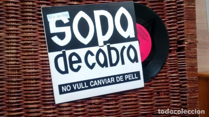 SINGLE (VINILO)-PROMOCION- DE SOPA DE CABRA AÑOS 90 (Música - Discos - Singles Vinilo - Grupos Españoles de los 90 a la actualidad)