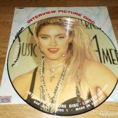 Discos de vinilo: MADONNA LP VINYL INTERVIEW I,RARE PICTURE DISC UK 1988 *PRINCE-MICHAL JACKSON*(COMPRA MINIMA 15 EURO. Lote 144033846
