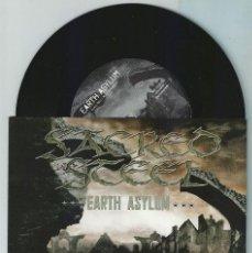 Discos de vinilo: SACRED STEEL SINGLE 2009 *NUEVO* METALLICA-SEPULTURA (COMPRA MINIMA 15 EUROS). Lote 179050978